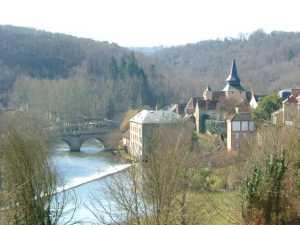 The Creuse at La Celle Dunoise